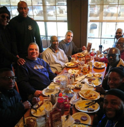 2019 Mens Retreat Trip Breakfast at From the Heart Church Ministries of Charlotte